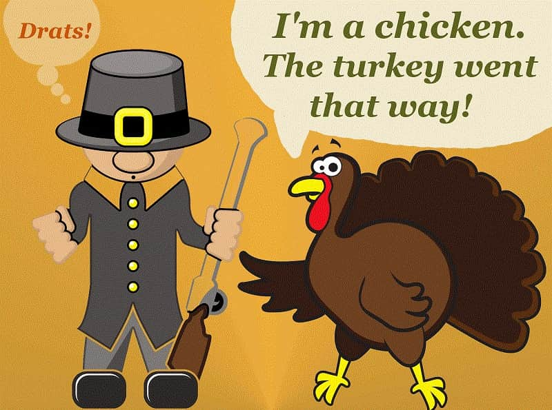 Happy Thanksgiving Turkey Jokes
