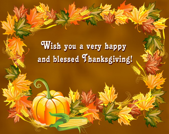 Happy Thanksgiving Wishes 2019