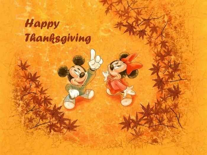 Thanksgiving Background Cartoon