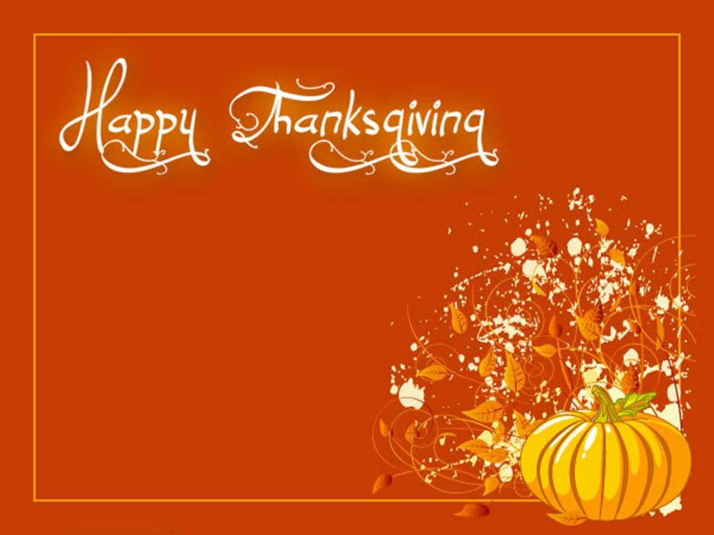 Thanksgiving Background Sample