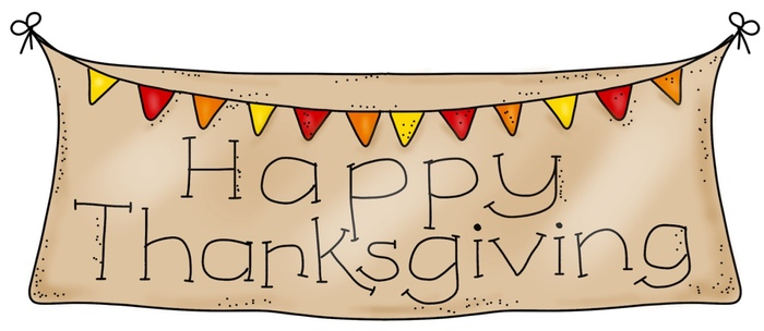 Thanksgiving Banner Clipart