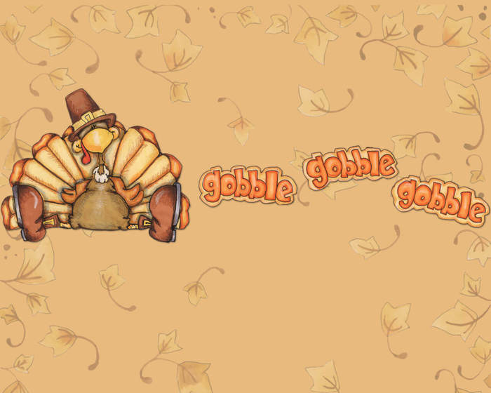 Thanksgiving Gobble Background